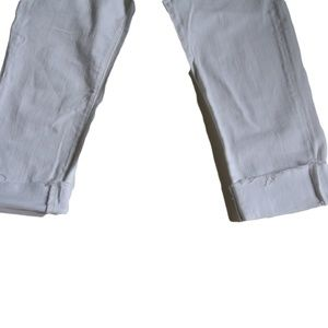 Ag Adriano Goldschmied Jeans - Ag Adriano Goldschmied White Jeans Stevie ankle 30